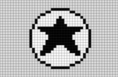 Converse Pixel Art Converse Logo, 8 Bit Art, Art Logo, Bead Art, Superhero Logos, Art Designs, Pixel Art, Disney, Lego