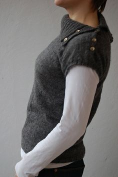 Trendy knitted top