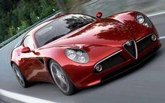 Alfa Romeo's stylish 8C supercar is destined for classic car status