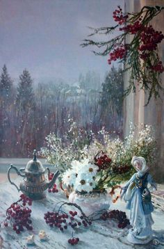 Painting by Russian Artist Vladimir Zhdanov