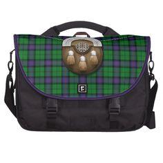 Clan Armstrong Tartan And Sporran Bags For Laptop