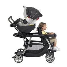 Graco Ready2Grow LX Stand and Ride Stroller - So versatile!!! Afraid to admit i might still need this one, Emma has been so needy, will it go away once baby is here????