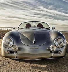Porsche 356 Speedster, how can you not love this car? Vw Vintage, Vintage Porsche, Porche 911, Porsche 356 Speedster, Bmw Classic Cars, Cabriolet, Porsche Cars, Custom Porsche, Sweet Cars