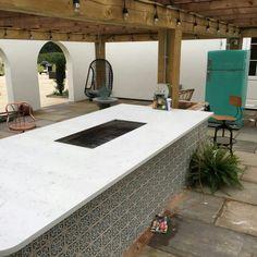 Carrera - Broxbourne, Herts - Rock and Co Granite Ltd Marble Quartz, White Quartz, Large Homes, Carrara, Outdoor Entertaining, Granite, Patio, Outdoor Decor, House