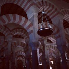 Cordoba la Mezquita per la nit Espanya