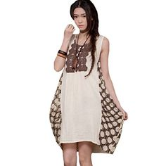 Minibee Summer Sundress Sleeveless Dress Irregular Dress Maxi White Minibee http://www.amazon.com/dp/B00XWZ7Y04/ref=cm_sw_r_pi_dp_FSfxvb1PJDE1M