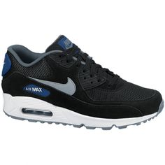 Air Max 90 Essential in black color characterized by special silhouette and  timeless design. Ultimate 73004e374