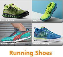 Jabong Running Shoes Sale Offer : Upto 60% OFF ON Nike, Adidas, Puma, Reebok - Best Online Offer