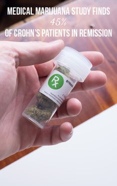 Medical marijuana study finds 45% of Crohn's patients in remission | massroots.com