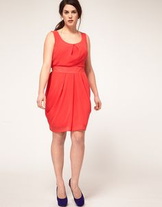 ASOS CURVE Tulip Dress