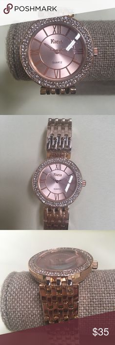 Stainless Steel Women Watch Stainless Steel Women Watch  Color: Rose Gold Accessories Watches