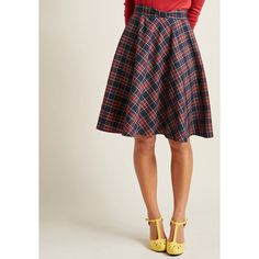 Swingy Skirt with Bow Waist (105 NZD) ❤ liked on Polyvore featuring skirts, navy blue midi skirt, bow skirt, navy blue skirt, navy skirt and midi skirts