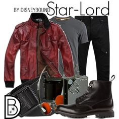Star-Lord by leslieakay on Polyvore featuring J.Lindeberg, Voi Jeans, Church's and River Island