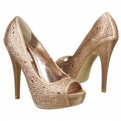 Must have spring pumps with Champagne color crystals and super comfortable..
