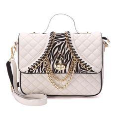 Bolsa Off White Zebra