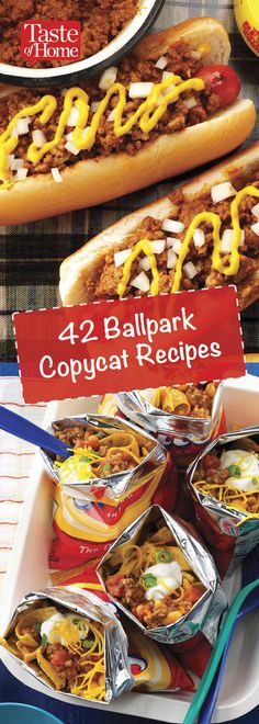 42 Ballpark Copycat Recipes