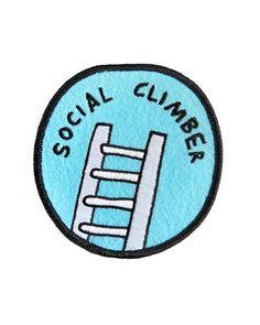 Social Climber Patch