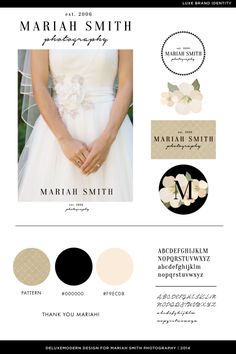 Deluxemodern Design| Luxe Brand Identity | Mariah Smith Photography | 2014