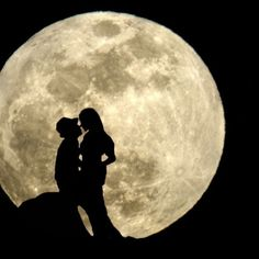 full moon valentine day