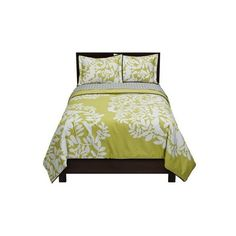 DwellStudio for Target Foliage Duvet Sets ($21) ❤ liked on Polyvore featuring home, bed & bath, bedding, beds, furniture, dwellstudio, leaf bedding and dwellstudio bedding