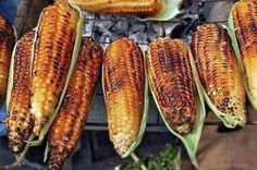 Image result for roasted corn africa