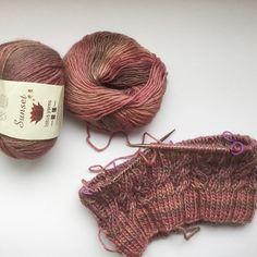 lotusyarns - Sunset, 70%merino and 30%soy #snood #knitting #knit #knitstagram #i_loveknitting #instaknit #knittersofinstagram #lotusyarns #lotusyarn##lotusyarns#yarns#knitting#handknitting#cashmere#naturalfiber#crochetaddict#yarnaddict#yarnlove#knittingaddict#merino#soy#