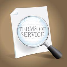 Those Terms of Service on Popular Websites DO Matter! #plpnetwork