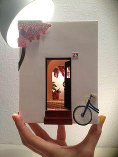Handpicked: The Charming Dioramas of Mar Cerdà — A Good Yarn Handpicked: The Charming Dioramas of Mar Cerda 3d Paper Art, Paper Artwork, Cut Paper, Diy And Crafts, Paper Crafts, Pop Up Art, Diy Papier, Diy Art, Book Art