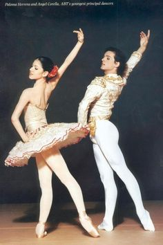 Angel Corella with Paloma Herrera, pas de deux from Don Quixote. One of my favorites at ABT.