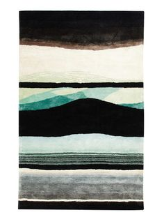 Christian Lacroix Tempera Hand-Tufted Rug by Designers Guild on Gilt Home