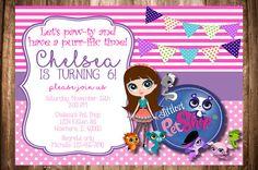 Invitación de cumpleaños de Littlest Pet por WonderstruckPrints