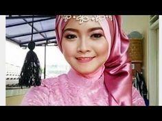 tutorial hijab wisuda & pesta princess style - YouTube