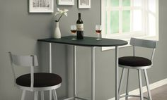Groupon - $ 174.99 for a Black and Silver 3-Piece Space Saver Bar Set ($ 340 List Price). Free Shipping & Returns.. Groupon deal price: $174.99