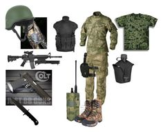 """""""TAT Special Forces Radioman"""" by louis-sargent ❤ liked on Polyvore featuring art"""