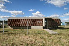 Gallery of Suburban House / Besonias Almeida Arquitectos - 5 Suburban House, Facade Architecture, House 2, Brick, Exterior, Outdoor Structures, Interior Design, House Styles, Gallery