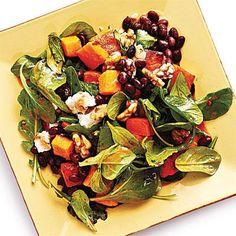 Butternut Squash and Smoky Black Bean Salad | CookingLight.com
