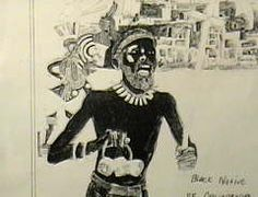 """An early """"Black"""" Californian, a member of the ORIGINal """"Black"""" aboriginal people of California AND the South Western U.S... Moors. 