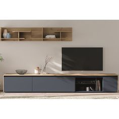 "Delp Entertainment Unit for TV's for up to 88"" 17 Stories"