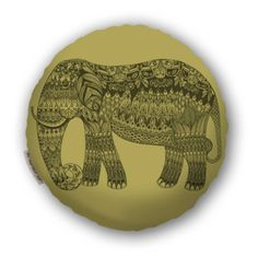 Elephant Pillow - Under $50 - Living