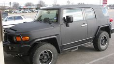Line-X coated Toyota FJ Cruiser #4x4