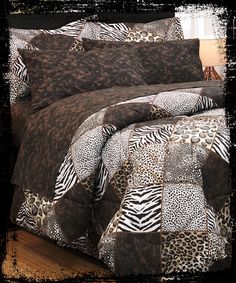 Make a statement with your love for animal print! #AnnasLinens #AnimalPrint
