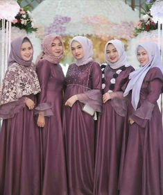 Gallery Beautiful Hijaber and Sexy - Sejuta Muslimah Dress Brukat, Hijab Dress Party, Hijab Style Dress, Batik Dress, Wedding Abaya, Muslimah Wedding Dress, Hijab Wedding Dresses, Dress Brokat Muslim, Muslim Dress