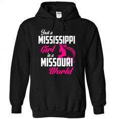 MISSISSIPPI-MISSOURI girl Pink05 - #family shirt #hoodie quotes. CHECK PRICE => https://www.sunfrog.com/States/MISSISSIPPI-2DMISSOURI-girl-Pink05-Black-Hoodie.html?68278