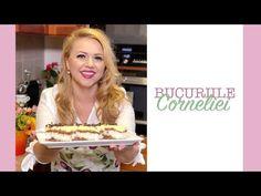 Prajiturile Corneliei: Reteta de prajitura cu spuma de cocos - YouTube Romanian Desserts, Healthy Tips, Coco, Deserts, Sweets, Cooking, Breakfast, Youtube, Kitchen