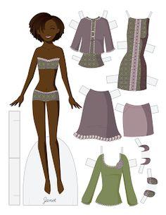 Paper Doll School: Fashion Friday - Janet