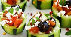 So, I was cruising the completely addicting site Pinterest and came across these mouthwatering Mediterranean Cucumber Cups and I could...