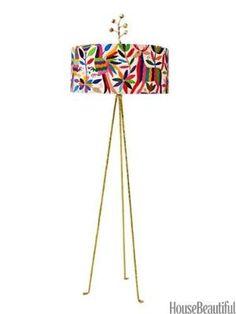 Otomi floor lamp. by josefa