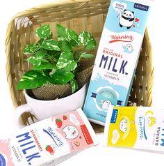 Moongs Milk Carton Pencil Pouch - $13.25