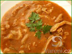Recept na polévku od začátku do konce pro každou začínající kuchařku.