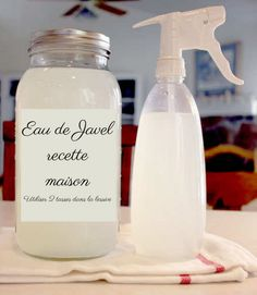 This disinfectant recipe is much better and is especially less harmful than bleach!